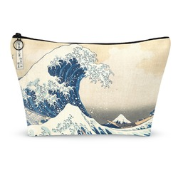 Great Wave of Kanagawa Makeup Bags