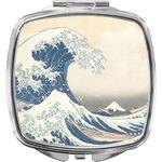 Great Wave off Kanagawa Compact Makeup Mirror