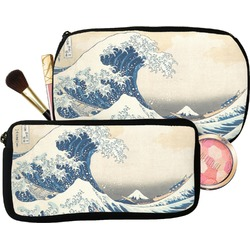 Great Wave of Kanagawa Makeup / Cosmetic Bag