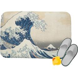 Great Wave of Kanagawa Memory Foam Bath Mat