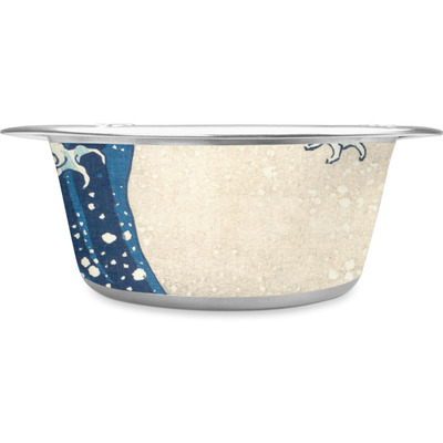 Great Wave off Kanagawa Stainless Steel Dog Bowl