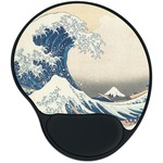 Great Wave of Kanagawa Mouse Pad with Wrist Support
