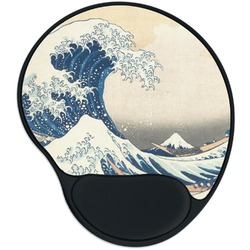 Great Wave off Kanagawa Mouse Pad with Wrist Support