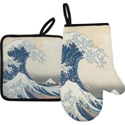 Great Wave of Kanagawa Oven Mitt & Pot Holder