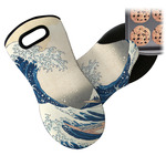 Great Wave off Kanagawa Neoprene Oven Mitts