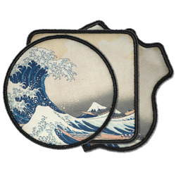 Great Wave off Kanagawa Iron on Patches