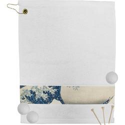 Great Wave of Kanagawa Golf Towel