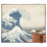 Great Wave off Kanagawa Outdoor Picnic Blanket