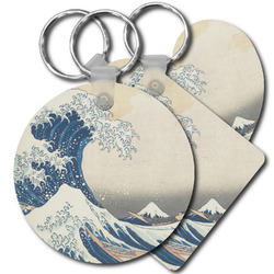 Great Wave off Kanagawa Plastic Keychains