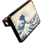 Great Wave of Kanagawa Rectangular Trailer Hitch Cover - 2