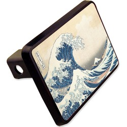 Great Wave of Kanagawa Rectangular Trailer Hitch Cover - 2""