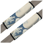 Great Wave off Kanagawa Seat Belt Covers (Set of 2)