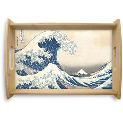 Great Wave of Kanagawa Natural Wooden Tray
