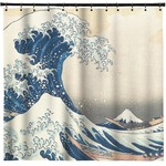 Great Wave of Kanagawa Shower Curtain