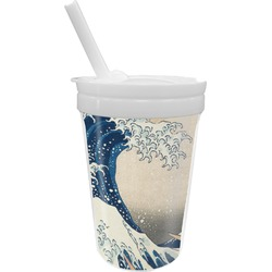 Great Wave of Kanagawa Sippy Cup with Straw