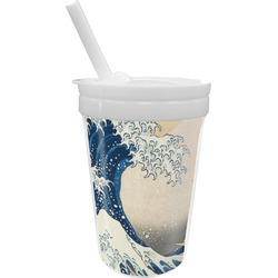 Great Wave off Kanagawa Sippy Cup with Straw