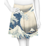 Great Wave of Kanagawa Skater Skirt