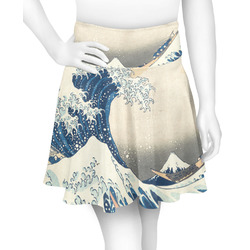 Great Wave off Kanagawa Skater Skirt