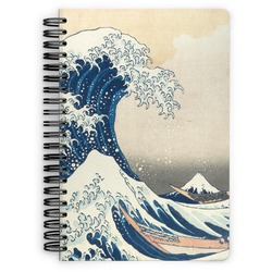 Great Wave of Kanagawa Spiral Bound Notebook
