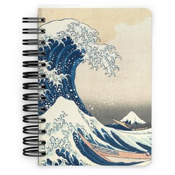 Great Wave of Kanagawa Spiral Bound Notebook - 5x7