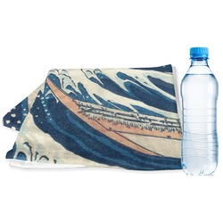 Great Wave of Kanagawa Sports & Fitness Towel