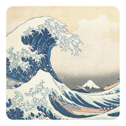 Great Wave of Kanagawa Square Decal - Custom Size