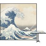 Great Wave of Kanagawa Square Table Top