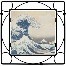 Great Wave of Kanagawa Square Trivet