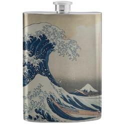 Great Wave of Kanagawa Stainless Steel Flask