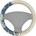 Great Wave of Kanagawa Steering Wheel Cover