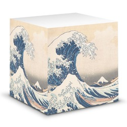 Great Wave of Kanagawa Sticky Note Cube