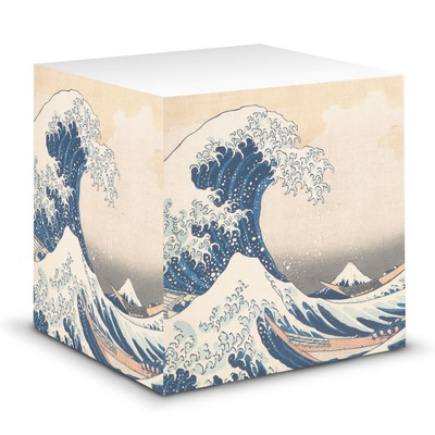 Great Wave off Kanagawa Sticky Note Cube
