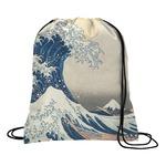 Great Wave off Kanagawa Drawstring Backpack