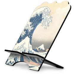 Great Wave of Kanagawa Stylized Tablet Stand