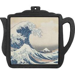 Great Wave of Kanagawa Teapot Trivet