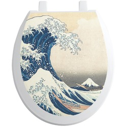 Great Wave of Kanagawa Toilet Seat Decal