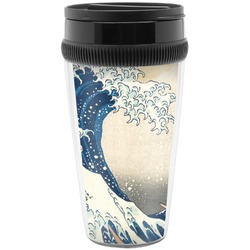 Great Wave of Kanagawa Travel Mugs