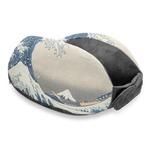 Great Wave off Kanagawa Travel Neck Pillow