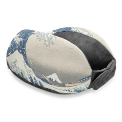 Great Wave of Kanagawa Travel Neck Pillow