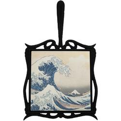 Great Wave of Kanagawa Trivet with Handle