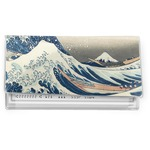 Great Wave off Kanagawa Vinyl Checkbook Cover