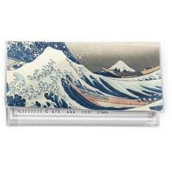Great Wave of Kanagawa Vinyl Checkbook Cover