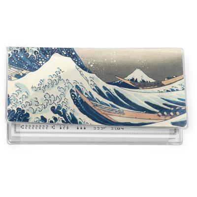 Great Wave off Kanagawa Vinyl Checkbook Cover