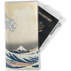 Great Wave of Kanagawa Travel Document Holder