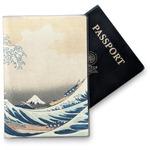 Great Wave of Kanagawa Vinyl Passport Holder