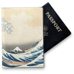 Great Wave of Kanagawa Vinyl Passport Holder
