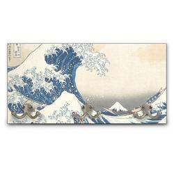 Great Wave of Kanagawa Wall Mounted Coat Rack