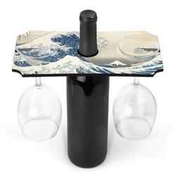 Great Wave off Kanagawa Wine Bottle & Glass Holder