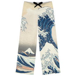Great Wave of Kanagawa Womens Pajama Pants