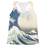 Great Wave off Kanagawa Womens Racerback Tank Top